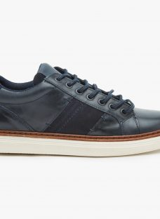 John Lewis Stamford Cupsole Leather Trainers