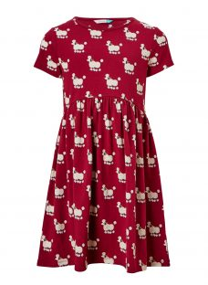 John Lewis Girls' Poodle Print Jersey Dress