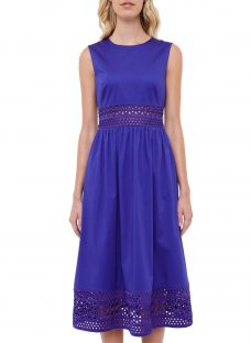 Ted Baker Tharia Cut-Out Lace Cotton Dress