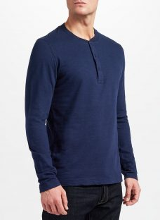 JOHN LEWIS & Co. Long Sleeve Henley T-Shirt