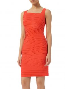 Adrianna Papell Banded Fitted Sheath Dress