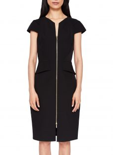 Ted Baker Fearnid Architectural Pencil Dress