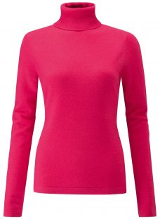 Pure Collection Cashmere Roll Neck Jumper