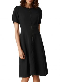 L.K. Bennett Nora Zip Front Dress