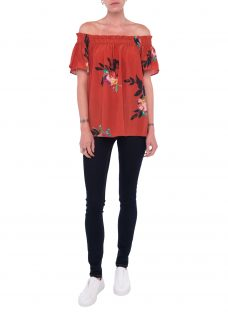 French Connection Delphine Drape Top