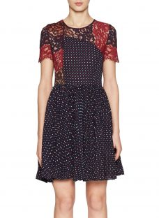 French Connection Phoebe Round Neck Dress