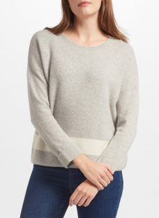 Collection WEEKEND by John Lewis Cashmere Texture Block Jumper
