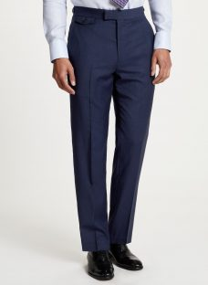 Chester by Chester Barrie Travel Wool Tailored Suit Trousers