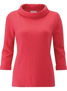 Pure Collection Cashmere Bardot Sweater