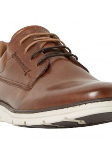 Dune Bachelor Leather Lace-Up Shoes