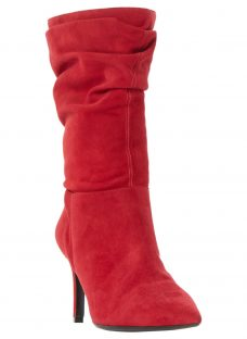 Dune Reenie Pointed Toe Ruched Calf Boots