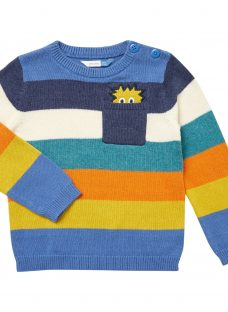 John Lewis Baby Peeking Monster Jumper