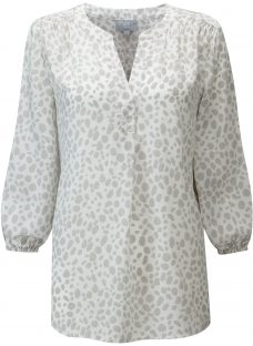 Pure Collection Notch Blouse