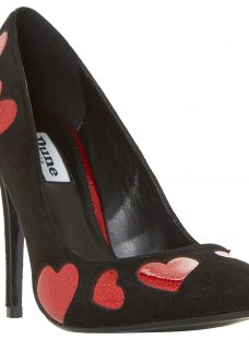 Dune Be Loved Stiletto Heeled Court Shoes