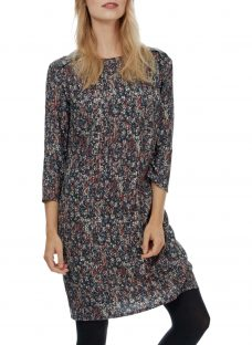 Brora Painterly Floral Shift Dress