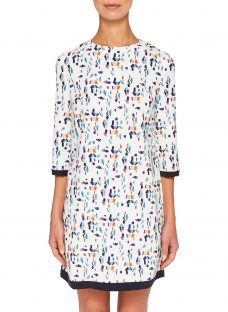 Ted Baker Colour by Numbers Limina Printed Shift Dress