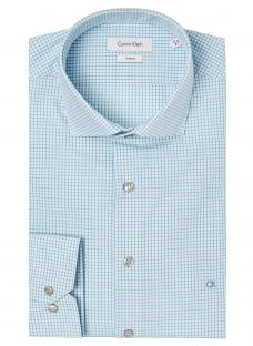 Calvin Klein Cannes Check Fitted Shirt