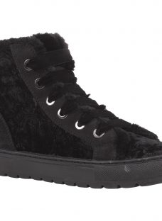 Geox Breeda High Top Lace Up Trainers
