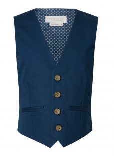 John Lewis Heirloom Collection Boys' Cotton Sateen Waistcoat