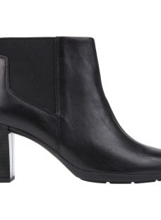 Geox Annya Block Heeled Ankle Boots