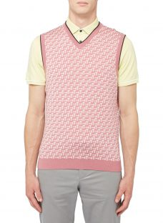 Ted Baker Golf Tommas Knit Tank Top