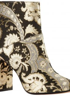 Ted Baker Ishbel Block Heeled Ornate Paisley Ankle Boot