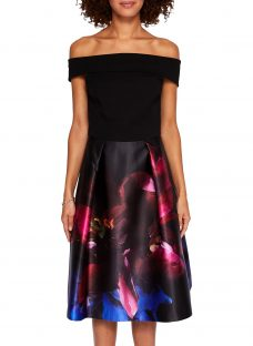 Ted Baker Kimey Impressionist Bardot Dress