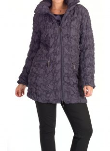 Chesca Mini Bonfire Embroidered Quilted Coat