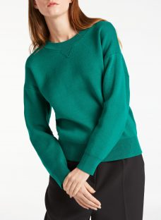 Kin by John Lewis Compact Cotton Jumper