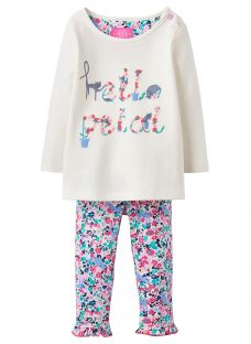 Baby Joule Hello Petal Poppy 2 Piece Set