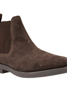 Geox Brandled Suede Chelsea Boots