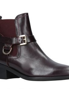 Carvela Saddle Twin Buckle Ankle Boots