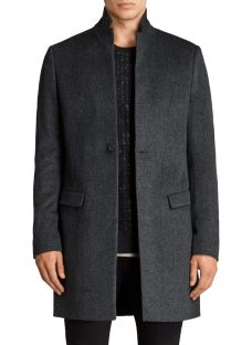 AllSaints Bodell Wool Tailored Coat