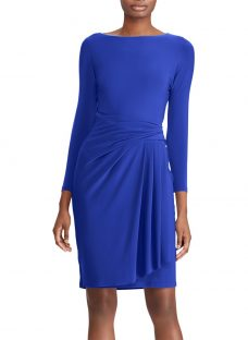 Lauren Ralph Lauren Aletha Stretch Jersey Dress