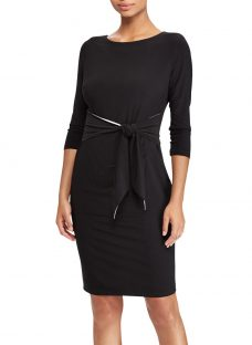 Lauren Ralph Lauren Bela Tie Waist Dress
