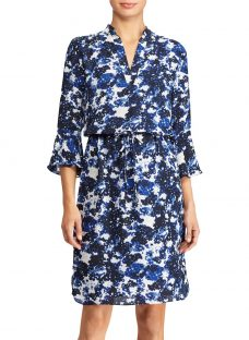 Lauren Ralph Lauren Elvarsha Floral Georgette Dress
