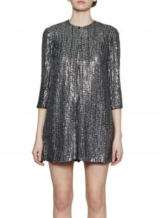 French Connection Desiree Disco Playsuit
