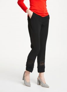 Marc Cain Lace Panel Trousers