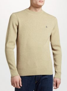 Original Penguin Supima Ribbed Jumper