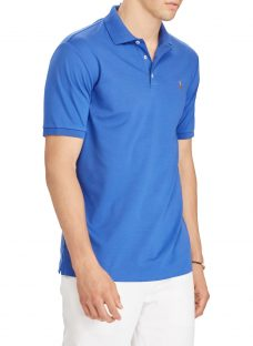 Polo Ralph Lauren Short Sleeve Soft-Touch Slim Polo Shirt