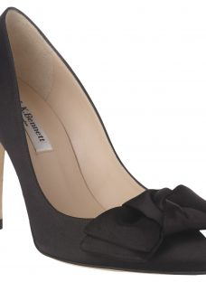 L.K. Bennett Aine Bow Stiletto Heeled Court Shoes