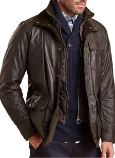 Barbour Connel Waxed Cotton Jacket