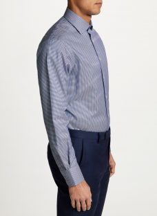 Smyth & Gibson Non Iron Twill Houndstooth Contemporary Fit Shirt
