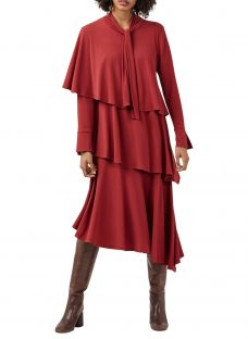 Finery Clarendon Layered Jersey Dress
