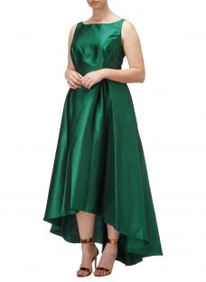 Adrianna Papell Arcadia High-Low Hem Ball Gown