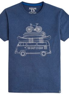Joules The Coast Is Clear Graphic T-Shirt