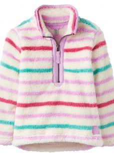 Little Joule Girls' Merridie Stripe Fleece
