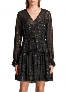 AllSaints Alia Flec Dress