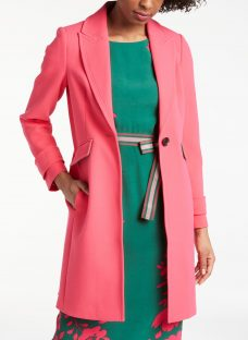 Boden Aileen Longline Tailored Coat