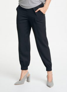 Max Studio Cuff Hem Twill Trousers